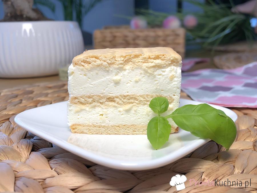 ciasto bez pieczenia biała dama